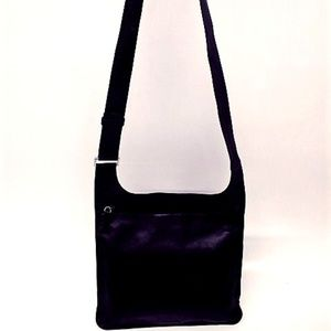 Prada Crossbody Black Leather Bag with COA